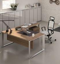 Manager-Schreibtisch Vert (Ringfuß)